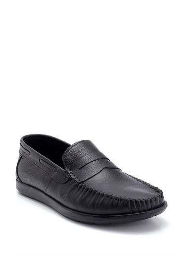 Derimod Erkek Deri Loafer Siyah